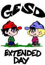 GESD Extended Day logo.