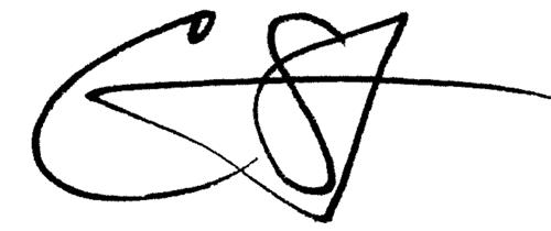 Segotta Jones signature