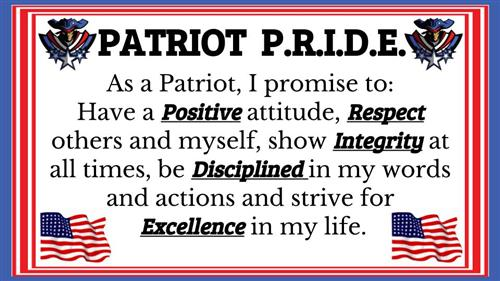 Patriot Pledge